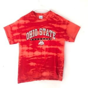 Custom Ohio State Dyed T-shirt